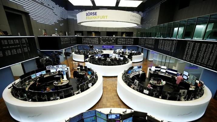 Data Perdagangan China Lesu, Bursa Eropa Ikut Melemah