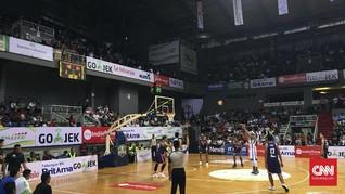 Satria Muda Kalahkan Pelita Jaya di Laga Pertama Final IBL