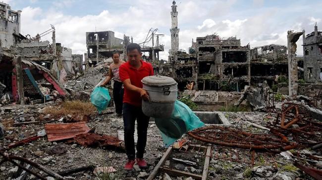 FOTO: Haru dan Pilu Kepulangan Warga Marawi