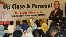Jejak Nicke Widyawati, Dirut Sementara Pertamina