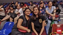 Mikha Tambayong Tegang Tonton Kekasih di Final IBL 2018