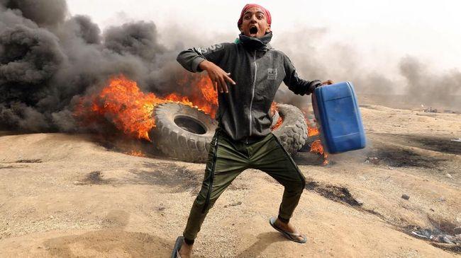 Tiga Warga Palestina Ditembak Mati israel Saat Kerusuhan