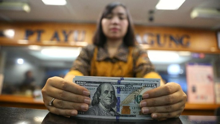 Pukul 15:00 WIB: Rupiah Setia di Rp 14.926/US$