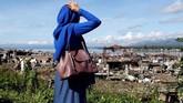 Setelah satu tahun mengungsi dari Marawi, para warga mulai kembali ke kampung halaman yang kini sudah hancur akibat perang delapan bulan antara kelompok teror afiliasi ISIS dan pasukan pemerintah pada 2017 lalu. (Reuters/Erik De Castro)