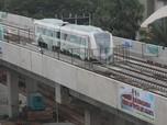 Ini Penampakan LRT yang Diresmikan pada 10 Agustus