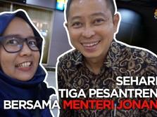 VLOG: Sehari ke Tiga Pesantren Bersama Menteri Jonan