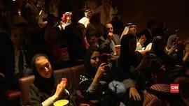 VIDEO: Saudi Putar Film Pertama di Bioskop Sejak 1983