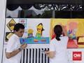 Hari Kartini dan Melukis Ibu Tangguh di Bus Transjakarta