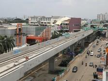 Gubernur DKI yakin Proyek LRT Velodrome Tuntas Juli 2018
