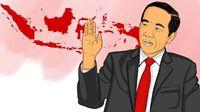 Survei Indikator Politik: Ketidakpuasan ke Jokowi Meningkat
