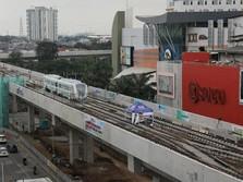 Ada MRT-LRT, Menhub Mau Jakarta Bebas Macet di 2023