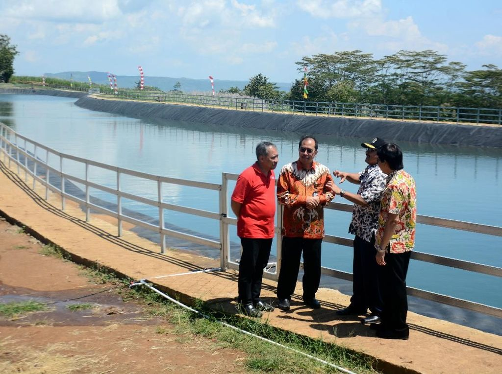 Pembangunan Embung Air di Wonogiri