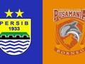 LIVE: Persib vs Borneo FC