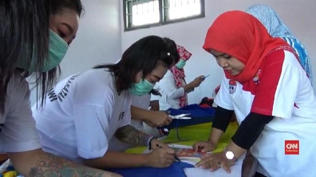 VIDEO: Kreasi Napi Perempuan di Penjara