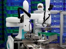 Perusahaan Jepang Mulai Pekerjakan Robot Pabrik Ukuran Kecil