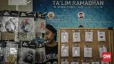 Acara ini juga diramaikandengan kios musik yang mengisi booth-booth, seperti tampak di foto ini. (CNN Indonesia/Adhi Wicaksono).