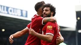 Liverpool Imbang, Salah Samai Rekor Shearer dan Ronaldo