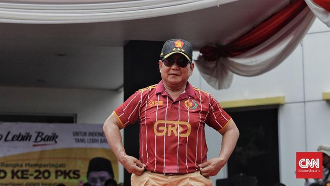 Prabowo Tak Yakin Indonesia Negara Terkuat 2045 Bisa Terwujud