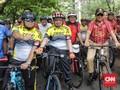 Rayakan Milad, Petinggi PKS Bersepeda dengan Prabowo