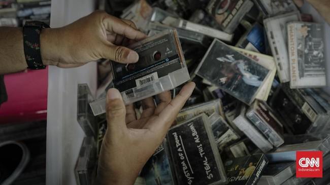 Tercatat tahun ini ada 47 rilisan spesial di RSD 2018 dari berbagai musisi Indonesia. (CNN Indonesia/Adhi Wicaksono)