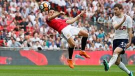 Babak Pertama: Man United Ditahan Imbang Tottenham 1-1