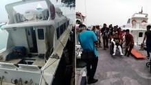 Penyebab Kapal Dishub Meledak di Pulau Seribu Masih Diusut