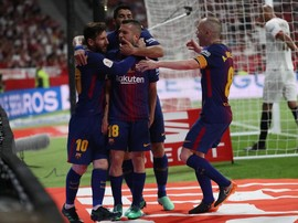 Barcelona Juara Copa del Rey Usai Hajar Sevilla 5-0