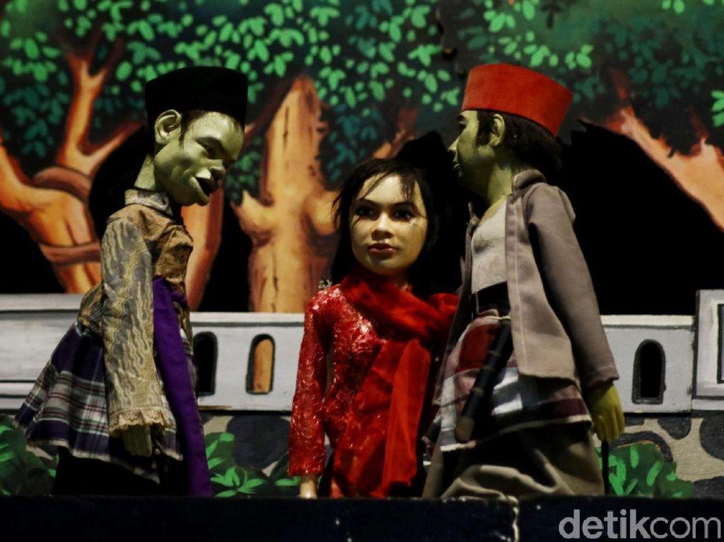 Serunya Nonton Wayang Golek Betawi di Kota Tua