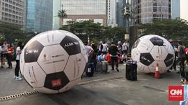 Jelang Piala Dunia, CT Corp Gelar Aksi Giring Bola