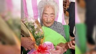 Perempuan Tertua Dunia Asal Jepang Meninggal Dunia