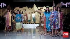 FOTO: Warna-warni 4 Suku Makassar dalam Koleksi Happa