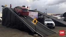 Xpander Laris Dijajal Pengunjung IIMS 2018