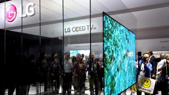 LG Electronics memperkirakan laba untuk periode April-Juni mencapai 771 miliar won (Rp 10 triliun).