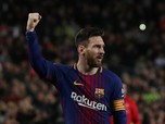 Kalahkan Ronaldo, Messi Atlet Bayaran Termahal ke-2 Dunia
