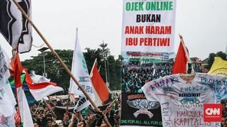 Merasa Diabaikan, Ojek Online akan Gugat Presiden Jokowi