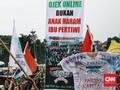 Ojek Online Ngotot Payung Hukum Sebelum Pembukaan Asian Games