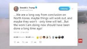 VIDEO: Trump Hati-hati Menyikapi Krisis Nuklir Korea Utara