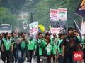 Ojek Online Anggap Jokowi 'Bohong' soal Payung Hukum