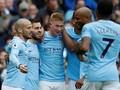 Man City Menang 5-0 Atas Swansea, Suporter Masuk ke Lapangan