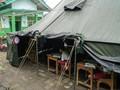 Gempa Banjarnegara, Siswa Ujian Nasional di Tenda Darurat