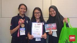 Tiga 'Kartini' Muda Peraih Juara Robotik Kreatif