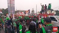 Ada Sweeping Ojek Online Sebelum Demo, Penumpang Kesal