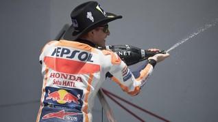 Perayaan Marquez di MotoGP Amerika Bukan untuk Ejek Fan Rossi