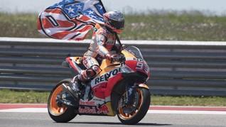 Kemenangan di MotoGP Amerika Balasan Marquez untuk Rossi