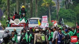Temui DPR RI, Ojek Online Usulkan Tarif Rp3.200/Kilometer