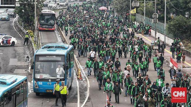 Massa Ojol Tetap Kepung Kedubes Malaysia Besok