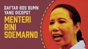Daftar Bos BUMN yang Dicopot Menteri Rini Soemarno