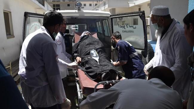 Tak lama setelah itu, ISIS mengklaim sebagai dalang di balik serangan tersebut. (AFP Photo/Wakil Kohsar)