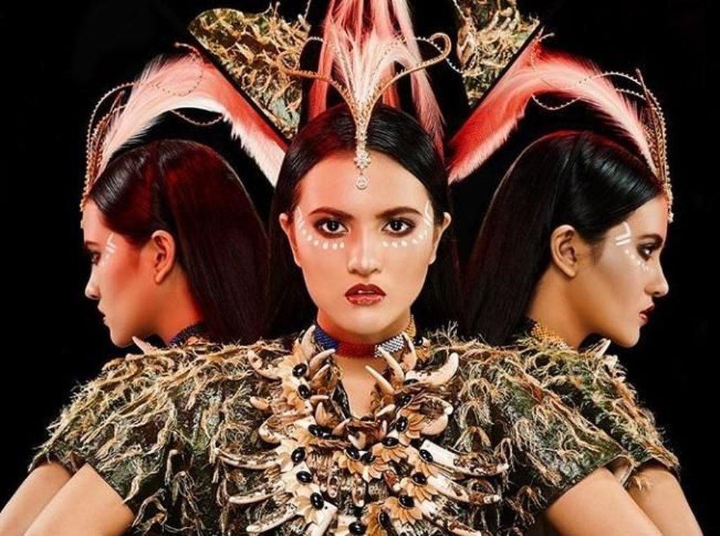 Cantiknya Kahiyang Ayu dan Sarita Abdul Mukti Jadi Model M.A.C.