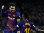 Kalahkan Ronaldo, Messi Dibayar Rp 424 Juta/Menit